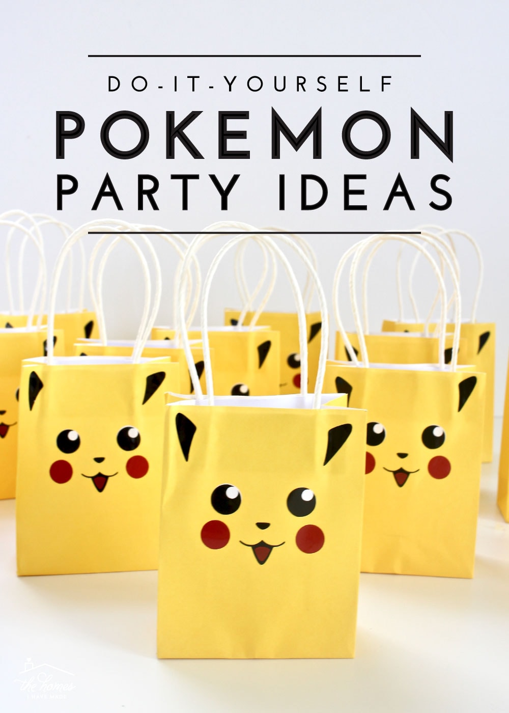 Throw a fun, quick and easy Pokemon-themed party with these easy DIY Pokemon Party Ideas!