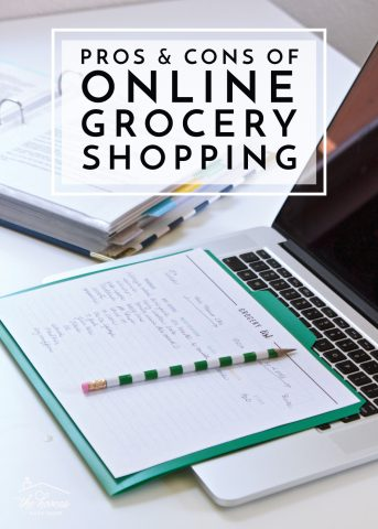 Save time and money with online grocery shopping! Breaking down the pros and cons to see if it's the right solution for your family!
