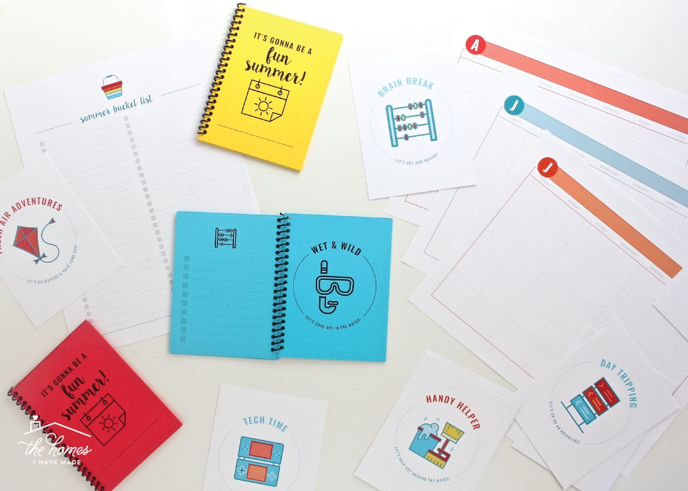 Summer Boredom Buster Booklets | A 31-Page Printable Kit to Get You Through Summer!