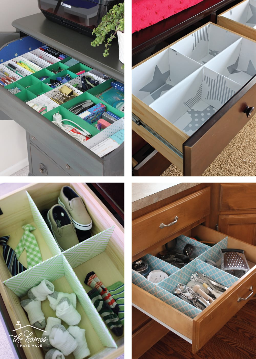 organize a drawer