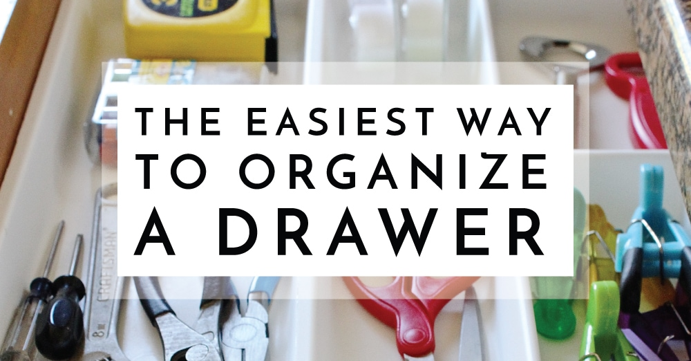 The Easiest Way to Organize a Drawer | The Homes I Have Made