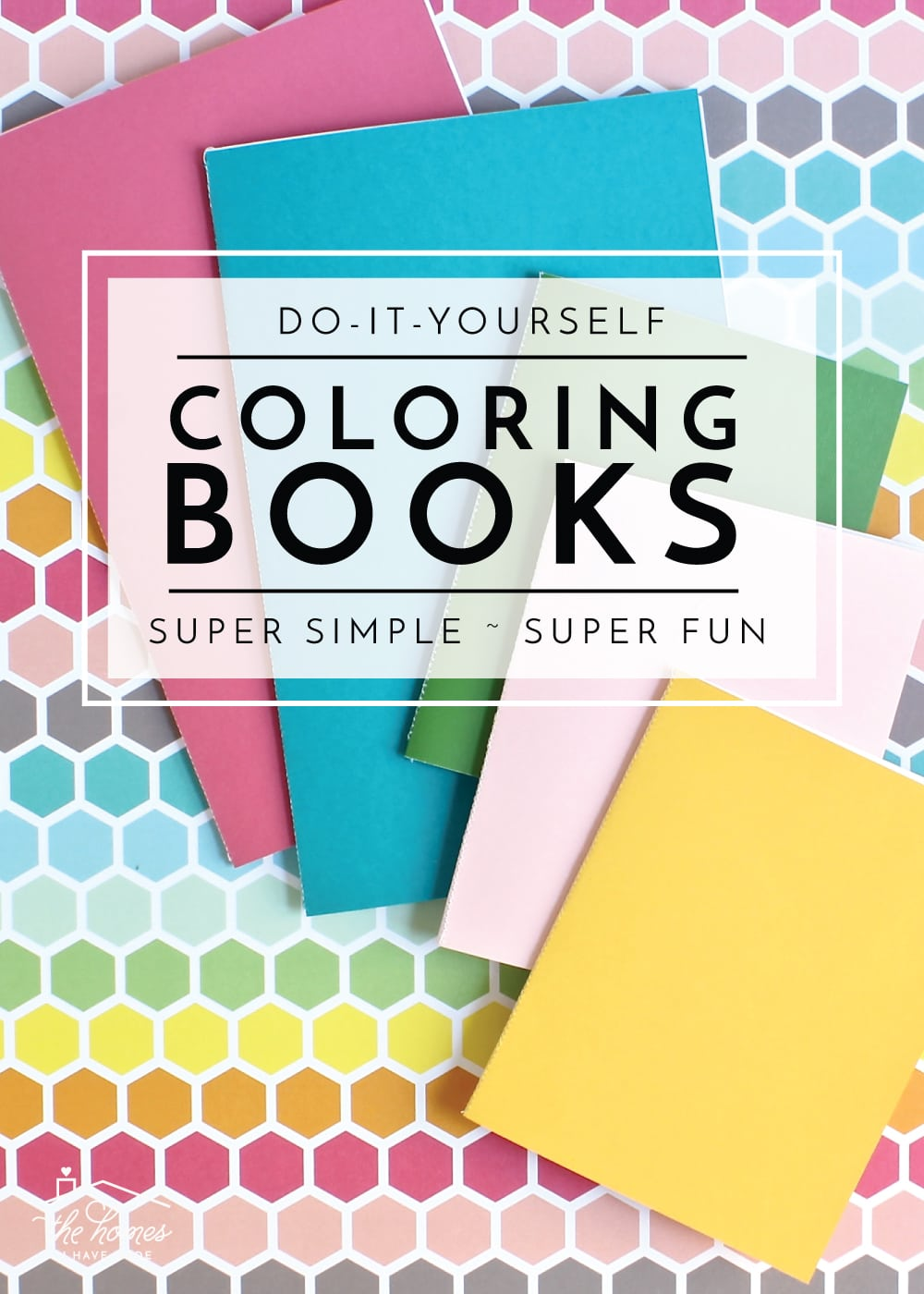 Keep kids entertained anywhere with these simple DIY Coloring Books!