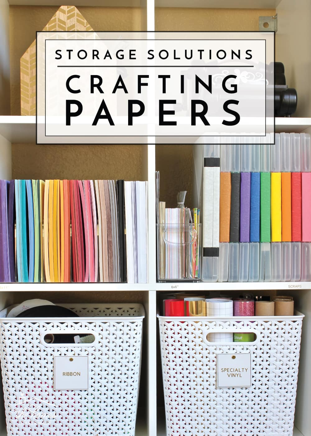 How To Organize Paperwork Part 4 Crafting Papers The Homes I Have Made