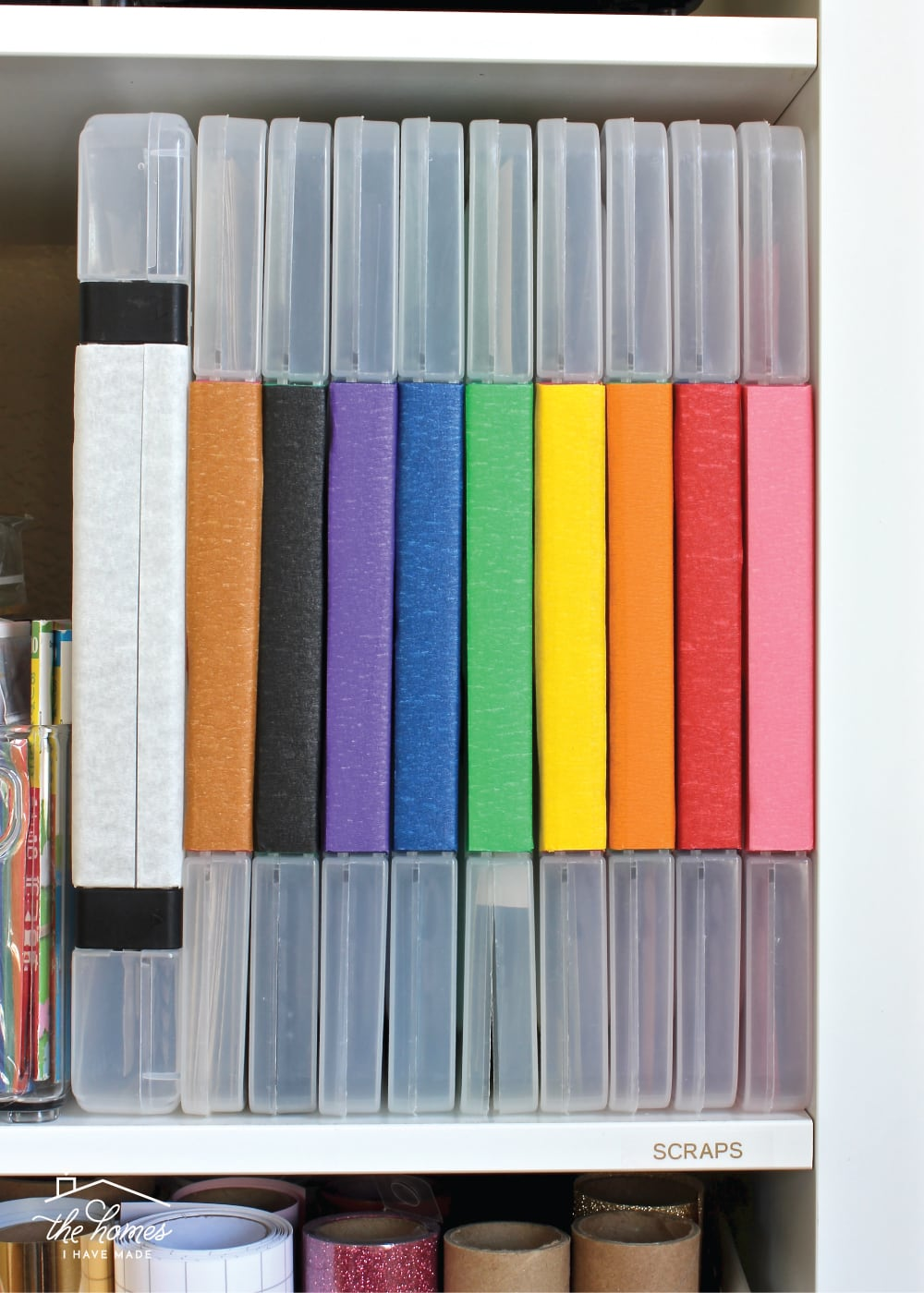 Sharing smart and simple solutions for storing all the craft papers from cardstock and pads to rolls and more!