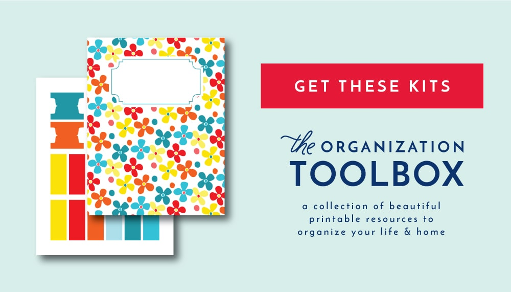 Printable Binder Covers, Dividers, and Tabs