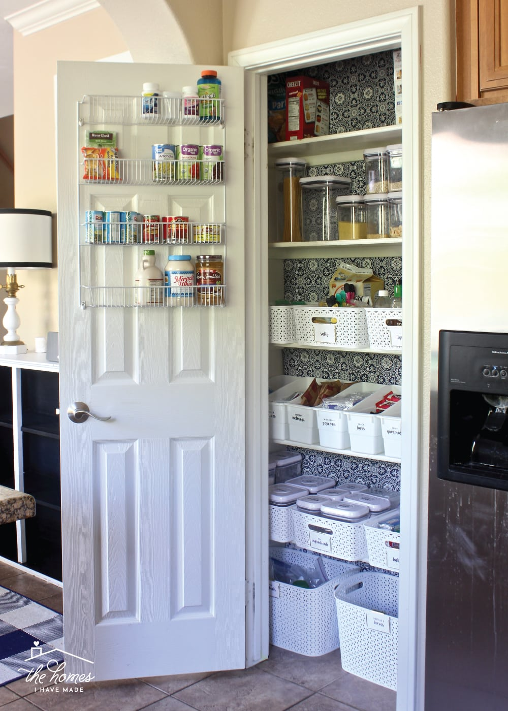Take a tour of a perfectly organized pantry with all sorts of unique and smart food storage solutions!