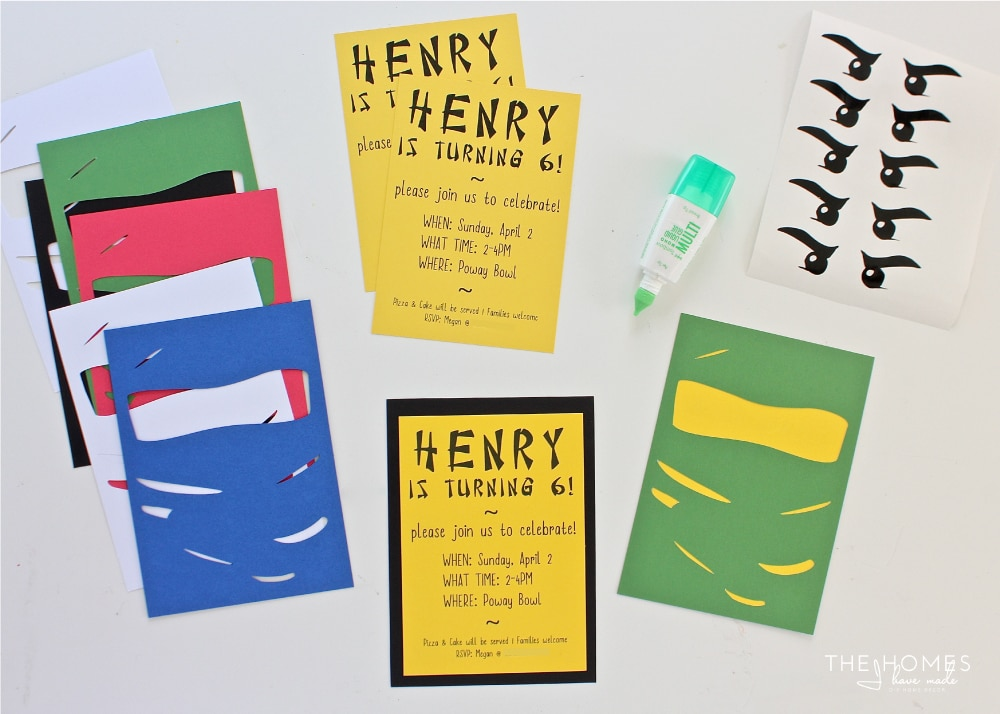 Learn how to make your own Ninjago Party Invitations with a Cricut Explore!