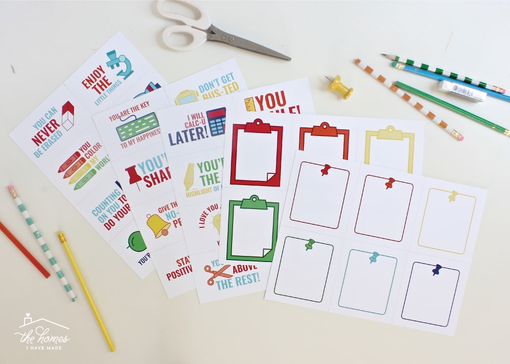 Need help planning and preparing a year's worth of school lunches? This Printable Lunch Box Planner and Lunch Notes are sure to make the task quicker and easier!