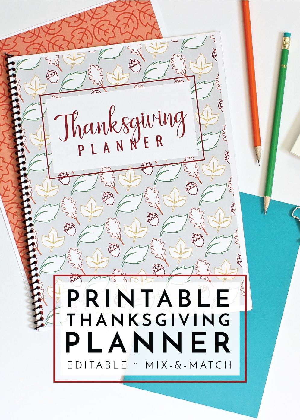 image about Thanksgiving Planner Printable named Fresh in direction of The Company Toolbox: Printable Thanksgiving