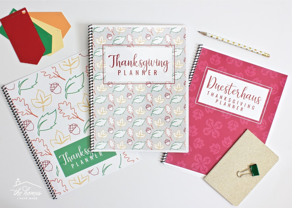 Plan every aspect of your Thanksgiving celebration with this editable and Printable Thanksgiving Planner!