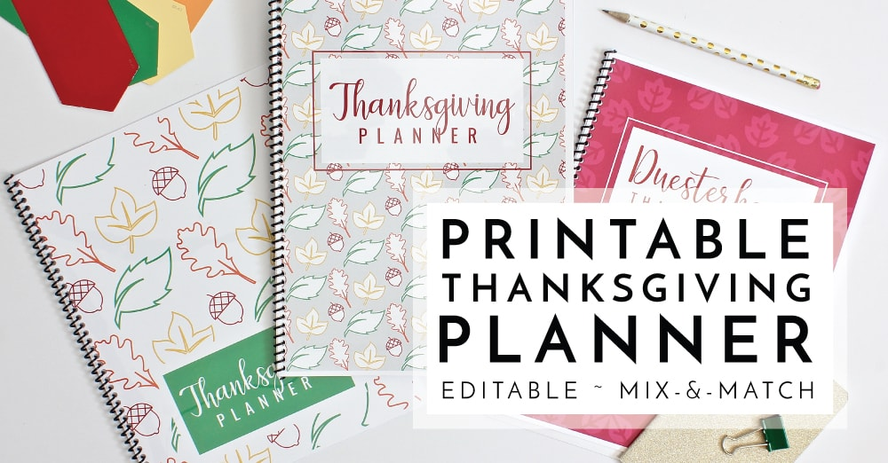 image relating to Thanksgiving Planner Printable titled Fresh towards The Business enterprise Toolbox: Printable Thanksgiving