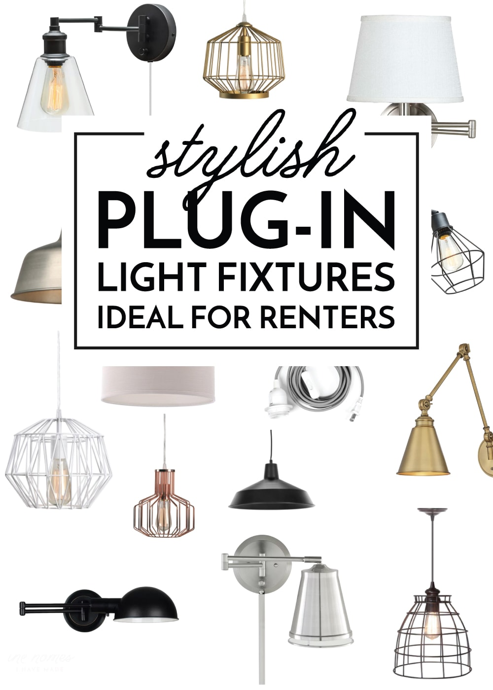 Plug-In Light Fixtures