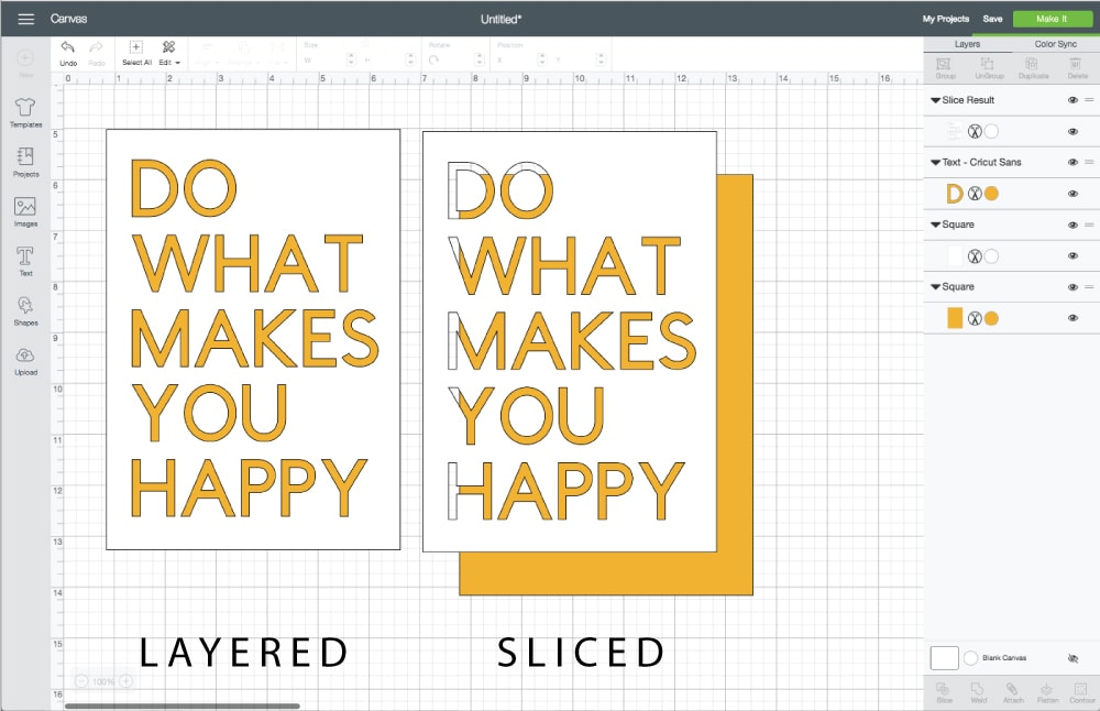 Slice is one of the most powerful tools in Cricut Design Space! Learn 4 effective and creative ways to use the Slice tool in this comprehensive tutorial!