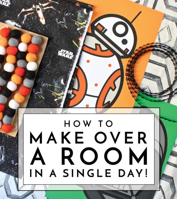 Giving a room a fresh look doesn't have to take forever. Learn how to make over a room in just 1 day!