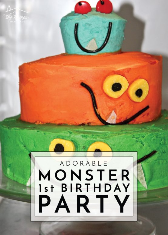 Monster of a First Birthday Party