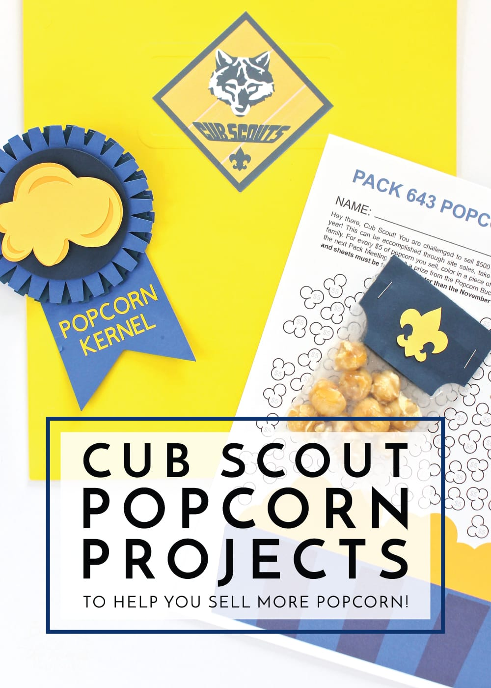 graphic about Cub Scout Printable known as Cub Scout Popcorn Jobs (Towards Assist By yourself Provide Added Popcorn