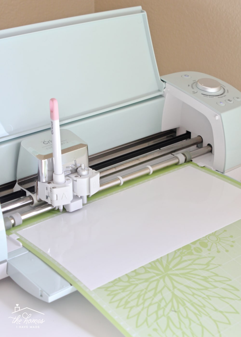 Learn the best tips and tricks for cutting and applying Cricut's Window Cling on a Cricut Explore!