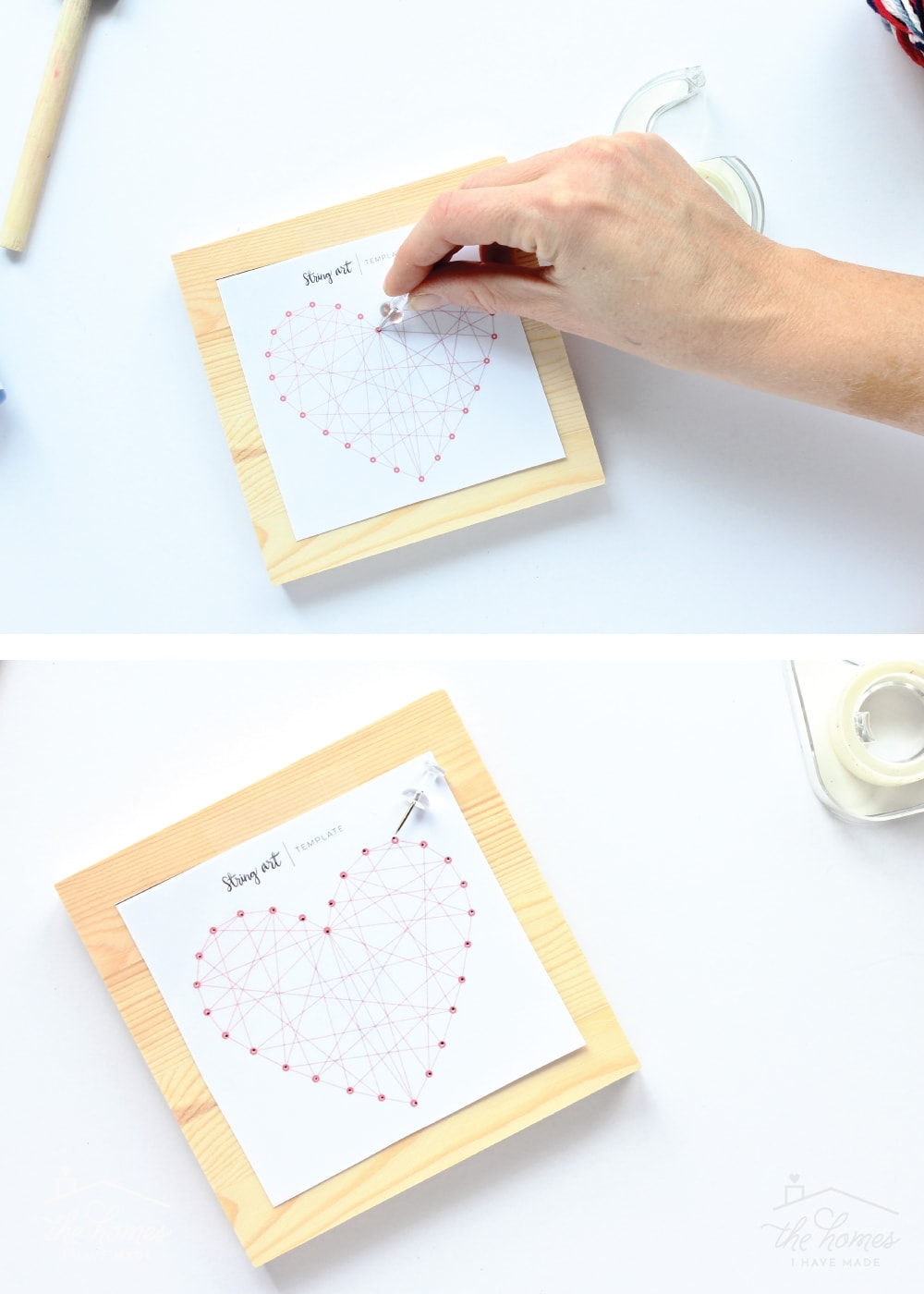 Easy Diy String Art Gift Idea Perfect For Kids The