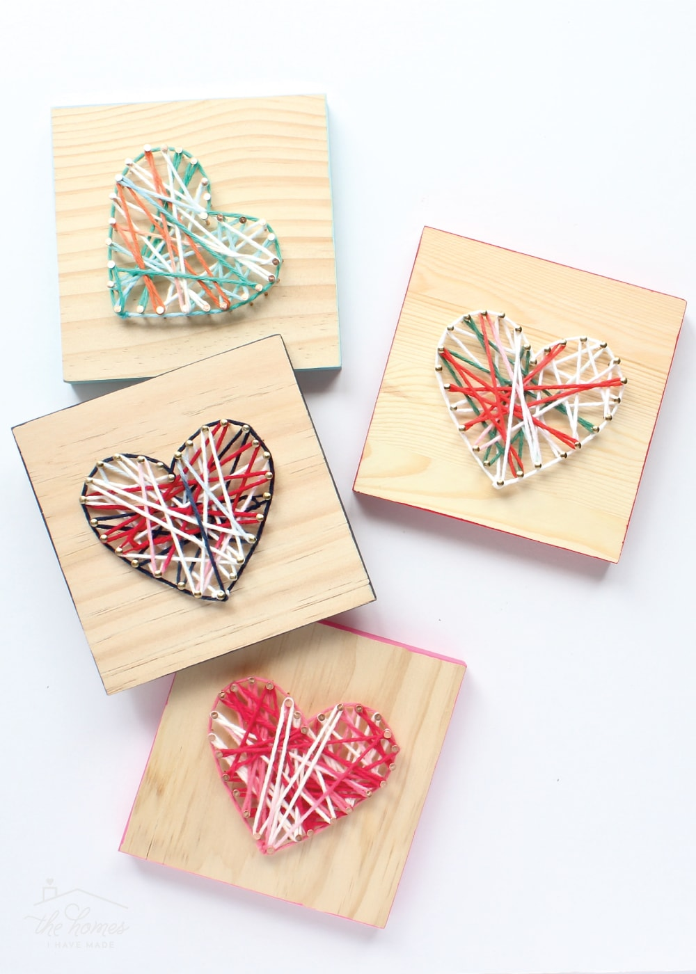 This easy DIY String Art project is the perfect kid craft or gift idea!