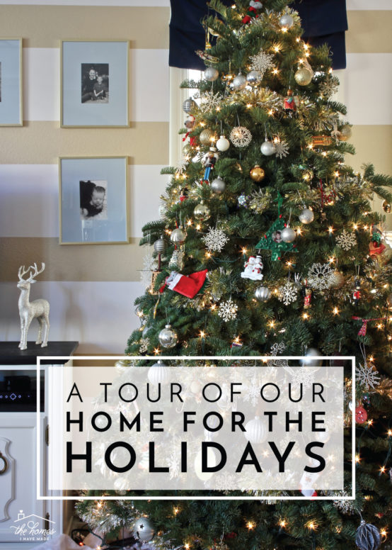 This blogger's sharing her real-life holiday home, as well as some reflections on all the projects, posts and life that happened in 2018!