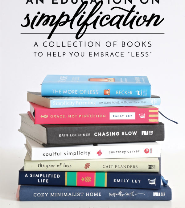 Ready to really declutter your home? Get motivated and learn how with these books on simplifying!