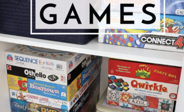 Make play time quick and easier with these tips and tricks for organizing board games!