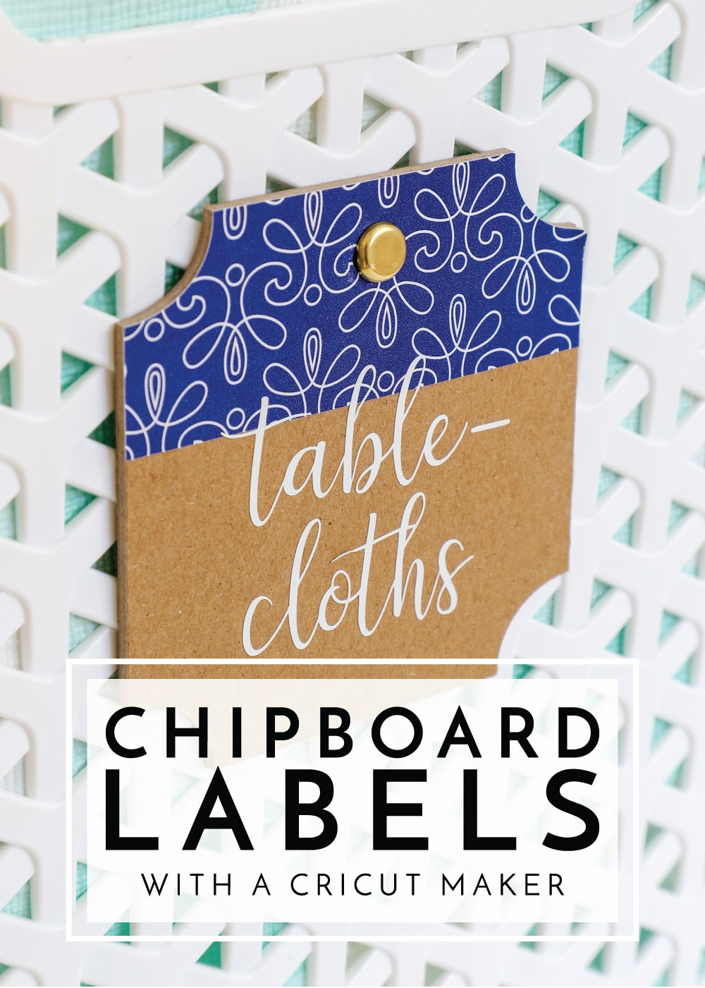 From chipboard labels to cake toppers, decor items to signs, the possibilities are truly endless! Learn all about how to cut chipboard on a Cricut Maker!