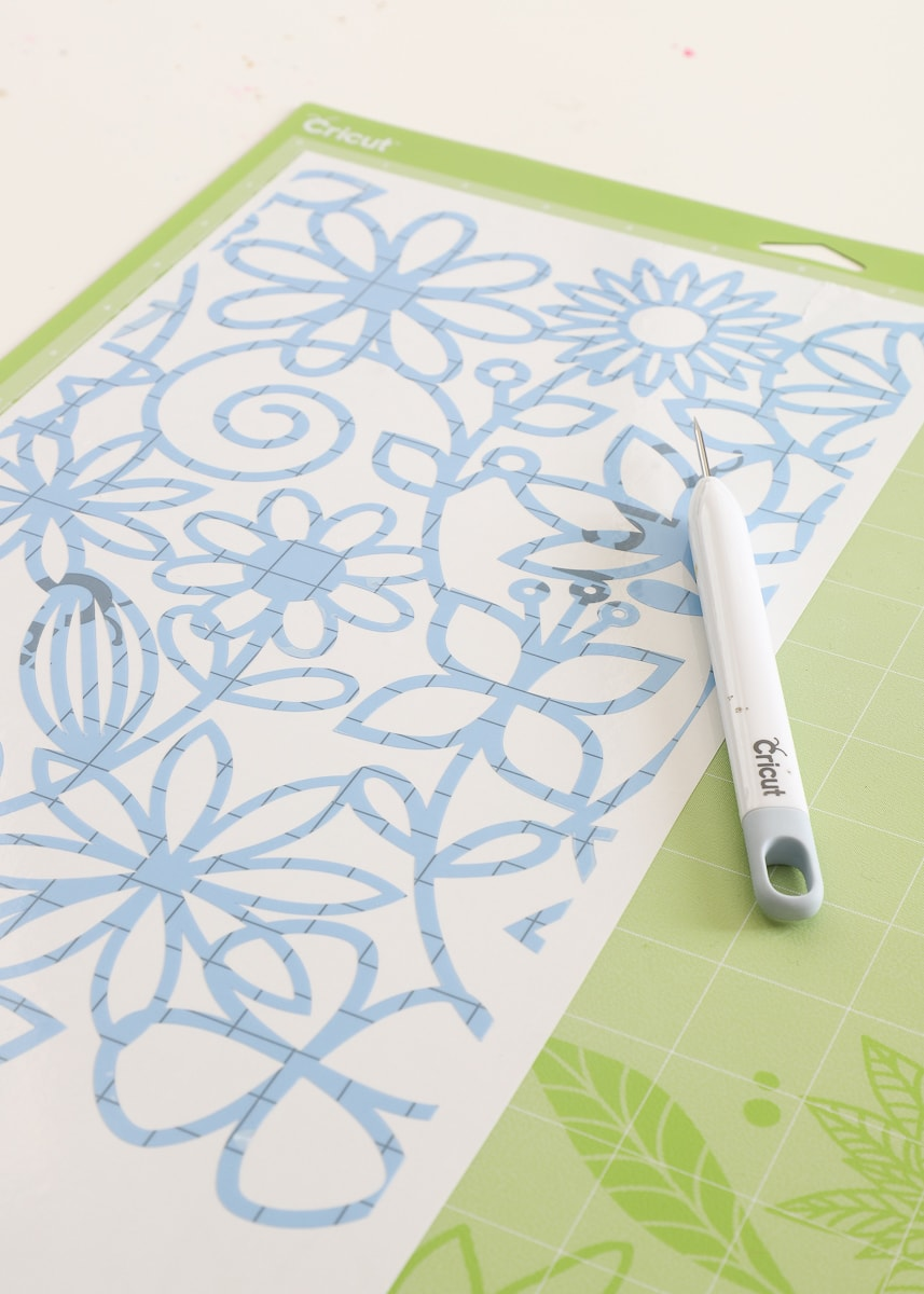 Learn everything you need to know about making custom stencil projects with your Cricut machine!