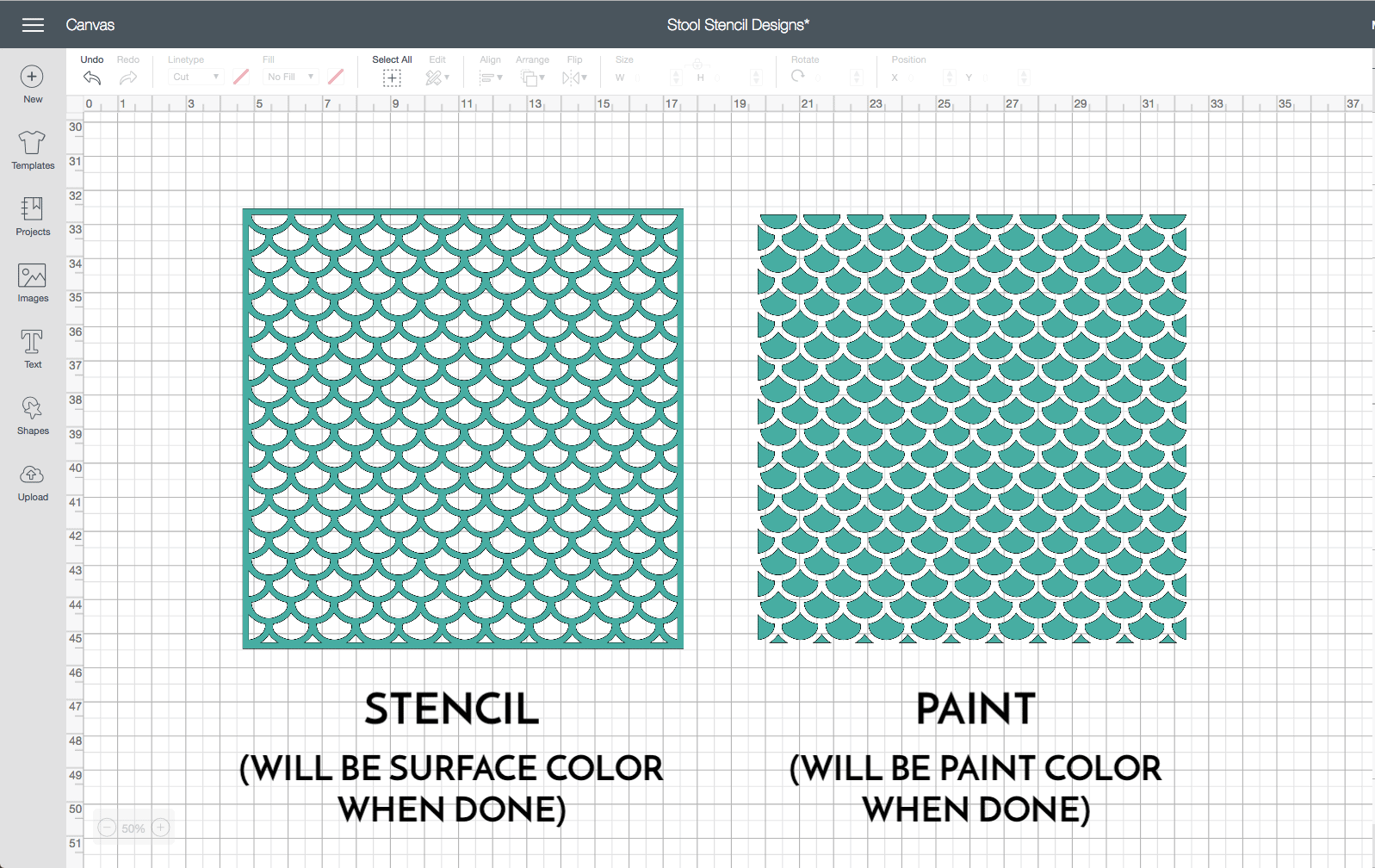How to Cut Stencils with a Cricut | Everything You Need to Know