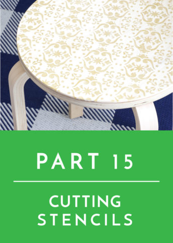 Tips and Tricks for Working with Glitter Vinyl | The Homes I