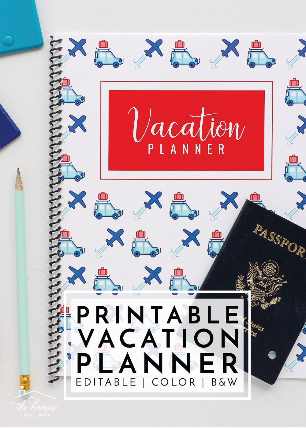 photo regarding Vacation Planner Printable referred to as Fresh in the direction of The Enterprise Toolbox: Printable Trip Planner
