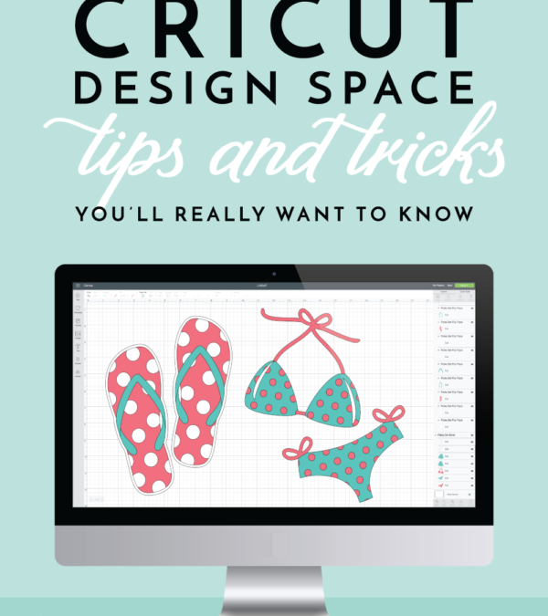 New to Using Your Cricut Machine? These 20 tips and tricks will help you master Design Space and get creating right away!