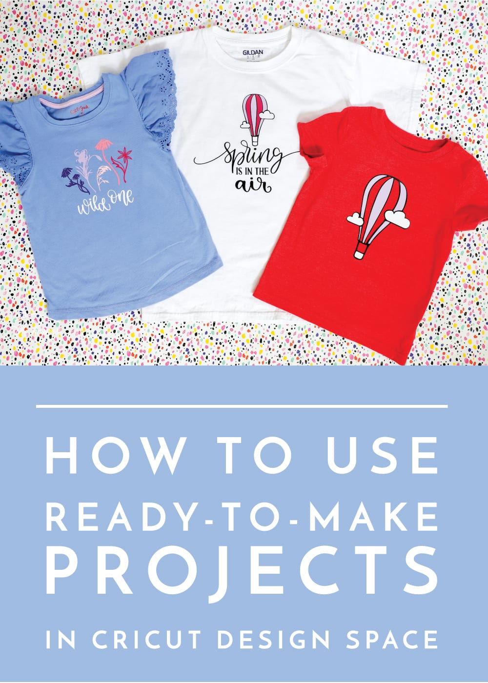 Get up and running quickly on your Cricut machine with easy Ready-to-Make projects - this tutorial shows you exactly how to do it!