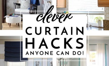 Clever Curtain Hacks
