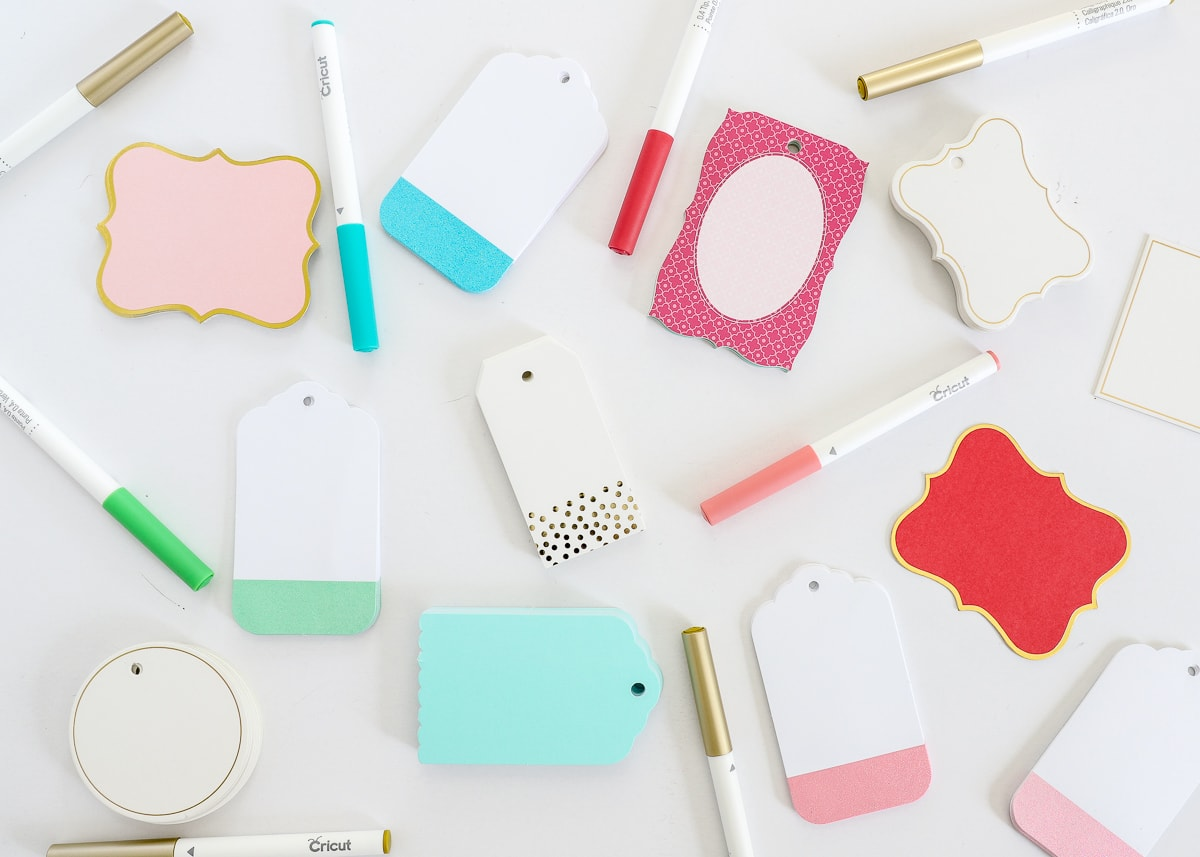 How to Write on Tags and Labels with Cricut Pens