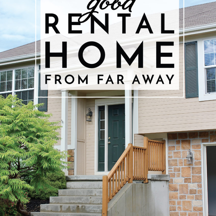 how to find a good rental home
