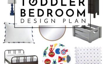 Super Hero Toddler Bedroom