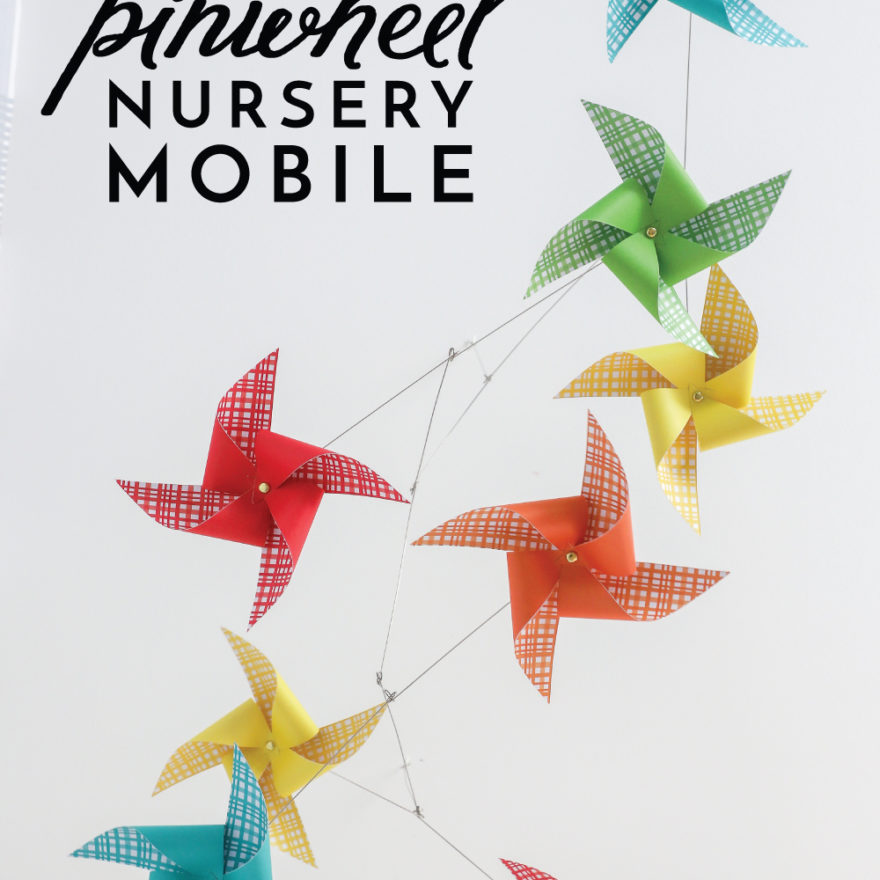 DIY Pinwheel Mobile