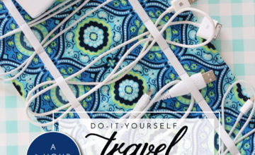 DIY Travel Cord Organizer