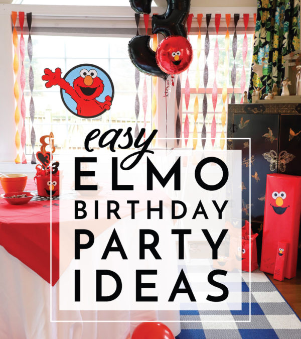 Elmo Birthday Party Ideas