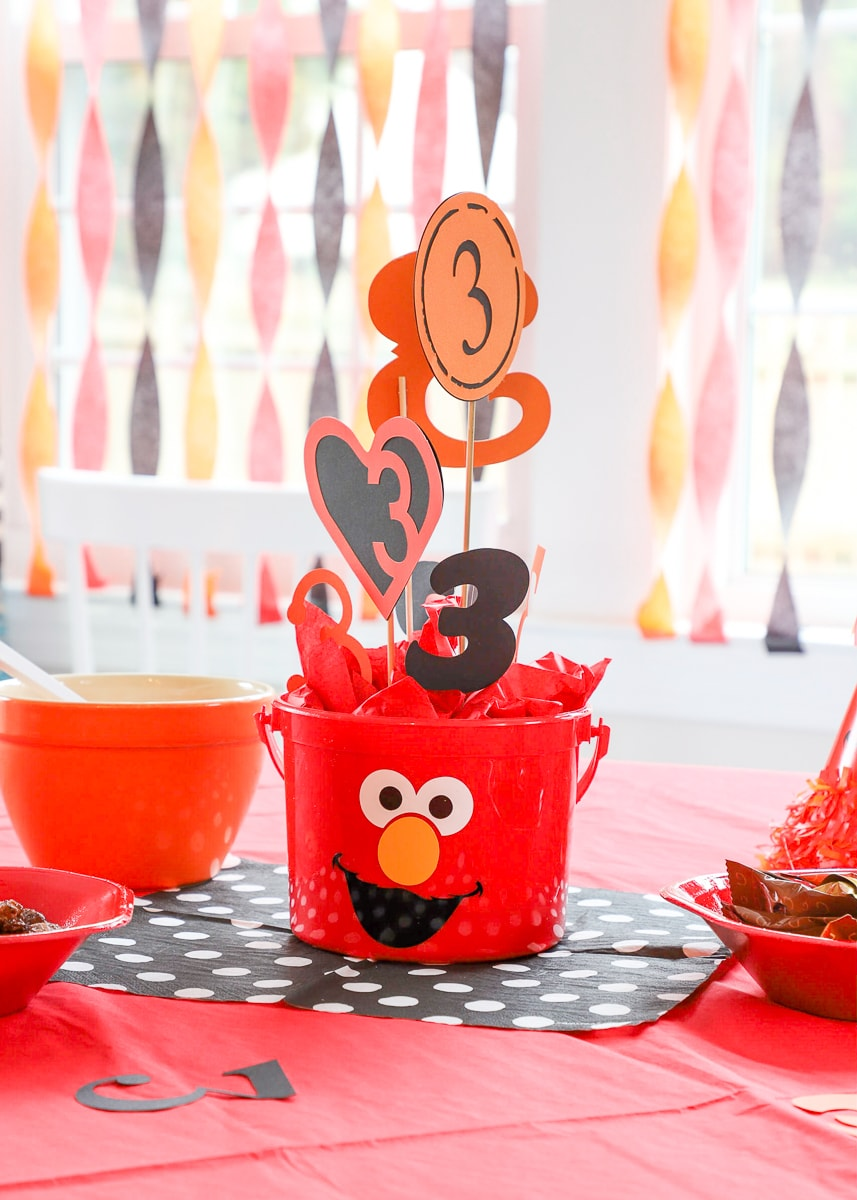 Easy Elmo Birthday Party Ideas The Homes I Have Made