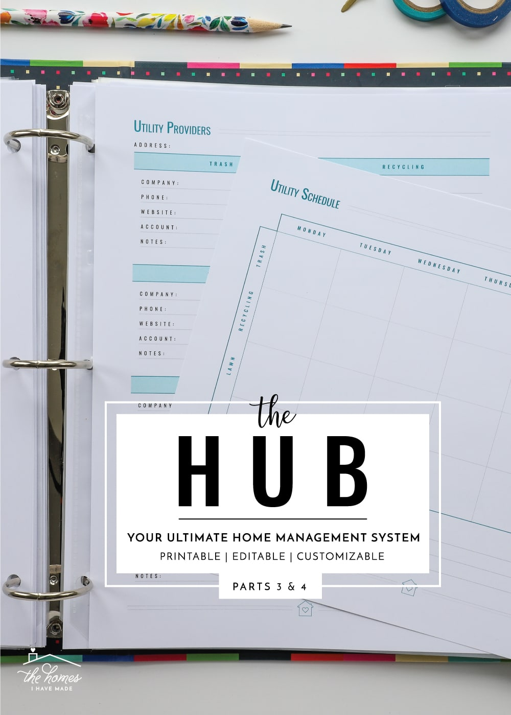 Home Management Worksheets