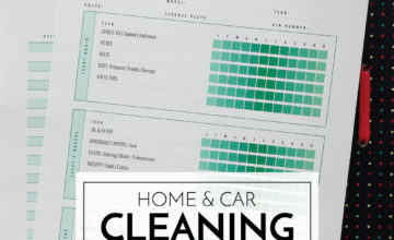 Cleaning & Maintenance Printables