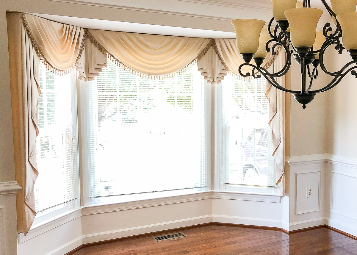 Image of: Curtain Ideas For Bay Windows And Other Strange Arrangements The Homes I Have Made