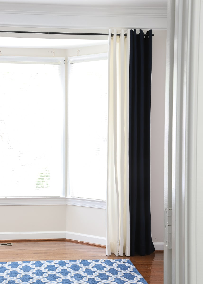 Curtain Ideas for Bay Windows And Other Strange Arrangements ...