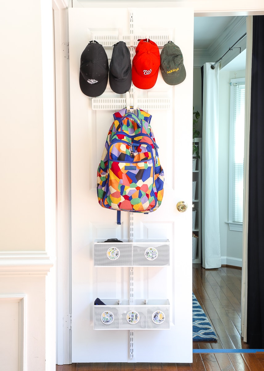 Organizing the Front Hall Closet