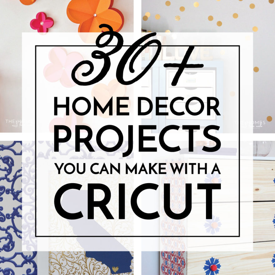 Projects You Can Make With a Cricut
