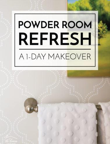 Powder Room Refresh