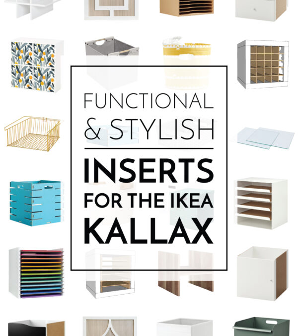 Inserts For the IKEA Kallax