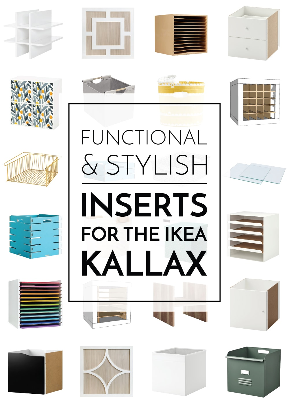 Inserts For the IKEA Kallax
